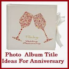Our Wedding Photo Album Thank You Messages Anniversary