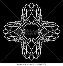 celtic symbol infinity symbol stock vector 490052275