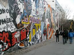 on houston street faile installs a comic style mural arts observer new