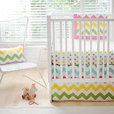 Zig Zag Crib Bedding Set New Arrivals Zig Zag Baby 2 Crib Bedding Set