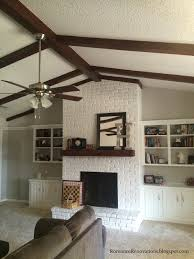 home decor and renovations home decor romance renovations painting ceiling beams to look like