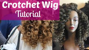 ombre marley hair how to make a crotchet wig tutorial with ombre marley hair youtube