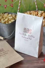 popcorn favor bags these popcorn favor bags by the from grand rapids popcorn