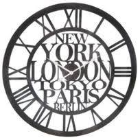 Grande Horloge Murale Carrée En Bois Vintage Achat Horloge Vintage Achat Horloge Vintage Pas Cher Rue Du Commerce