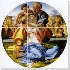 michelangelo religious wall tile mural 29 loading zoom