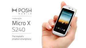 smallest android phone posh mobile micro x s240 is the world s smallest android phone