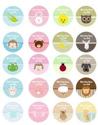 baby animals personalized sticker labels baby animals baby