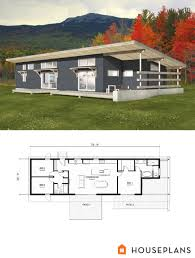 modern efficient house plans best plan maison images on pinterest