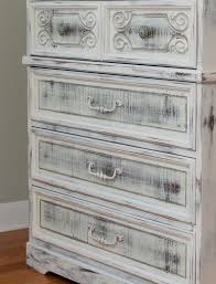 Painting Furniture White by Milk Painted Shabby Chippy Chic Dresser Salvaged Inspirations