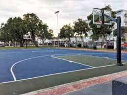 Basketball Courts With Lights Parks And Recreation City Of Miami Beach