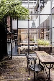 porte style atelier d artiste tendance les fenêtres en aluminium style industriel frenchy fancy