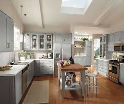 Diamond Kitchen Cabinets by Diamond At Lowes Gresham Maple Juniper Berry