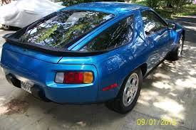 porsche 928 custom car picker blue porsche 928