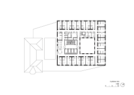 residential home floor plans gallery of elderly residential home atelier zündel cristea 18