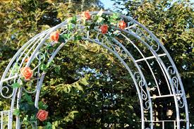 wedding flower arches uk decorative arch for hire for hertfordshire weddings wedding dj