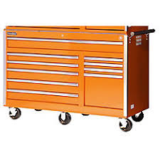international 42 inch 11 drawer orange tool cabinet the home
