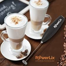 Useful Kitchen Items Amazon Com Powerlix Milk Frother Handheld Battery Operated