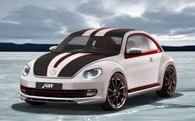 volkswagen hatchback custom abt gives volkswagen beetle custom touch