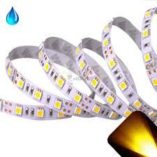 gold plcc6 5050 12v led strip adhesive backing waterproof
