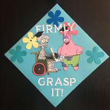 where to buy graduation caps spongebob graduation cap i did that why buy when you can diy