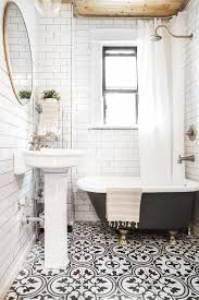 black and white tile bathroom ideas best 25 black white bathrooms ideas on style