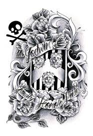 family crest sketch photos pictures and sketches