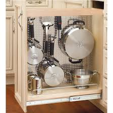 Kitchen Cabinet Rollouts Rev A Shelf Kitchen Desk Or Vanity Base Cabinet Pullout Organizer