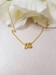 best 25 initial necklace gold ideas on pinterest initial