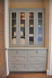 built in hallway cabinets build in shelves with glass doors and drawers rather than those