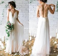 backless wedding dresses discount boho wedding dress 2017 newest backless wedding