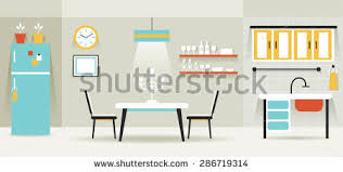 home interior vector furniture bedroom bathroom household home interior stock vector