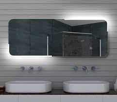 badspiegel led beleuchtung wandspiegel mit aluminiumrahmen led wandspiegel rabatt