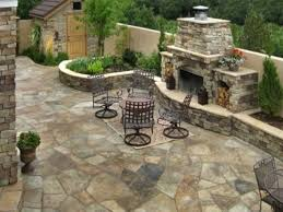 images about backyard patios ideas flagstone patio of weinda com