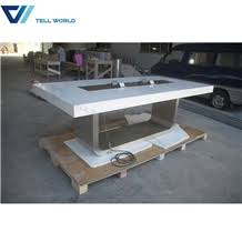 White Meeting Table Modern Corian Meeting Table Design White Conference Table