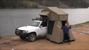 how to set up a kings roof top tent youtube