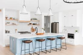 what color to paint kitchen island with white cabinets this is the blue paint color for a kitchen island
