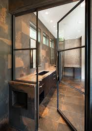 glass door in bathroom steel doors used in bathroom shower enclosure and sauna room