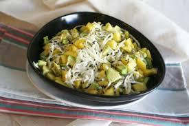 cuisiner les radis noirs salade au radis noir à la mangue et à l avocat terra eco
