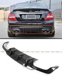 nissan 350z quad tip carbon fiber diffuser exterior ebay