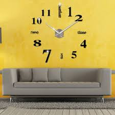 Decorative Wall Clocks For Living Room Online Get Cheap Large Kitchen Clock Aliexpress Com Alibaba Group