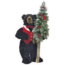 Black Bear Christmas Tree Ornaments 23