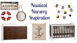nautical nursery inspiration rustic baby chic