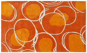 Area Rugs Orange Wow In My Glass Studio Table Area This Would Be Amazing I