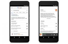 how to listen to with screen android you can now listen to podcasts inside the search app for