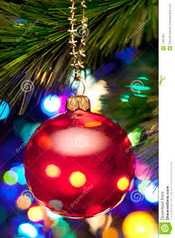 christmas tree and lights royalty free stock photography image