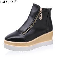 womens platform boots size 11 get cheap womens wedge platform boots size us 12