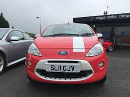 Ka 2011 Ford Ka 1 2 Grand Prix 3d 69 Bhp Red 2011 In Forfar Angus