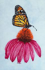 wing designs monarch butterfly the cross stitch pattern
