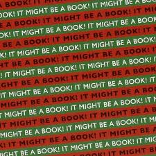 book wrapping paper it might be a book wrapping paper green the literary gift