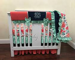 Mini Crib Australia Mini Crib Bedding Etsy